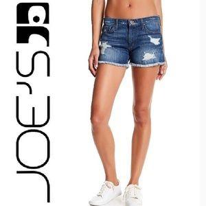 """Joe Jeans distressed jean shorts """"Renah"""" size 28"""